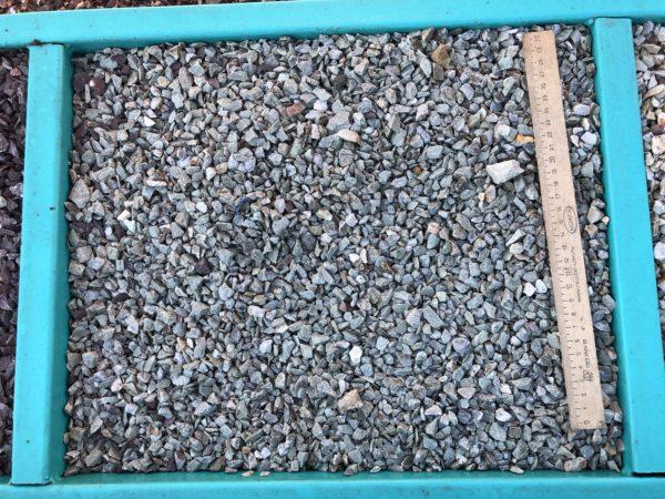 Крошка зеленая змеевик 5-10 мм