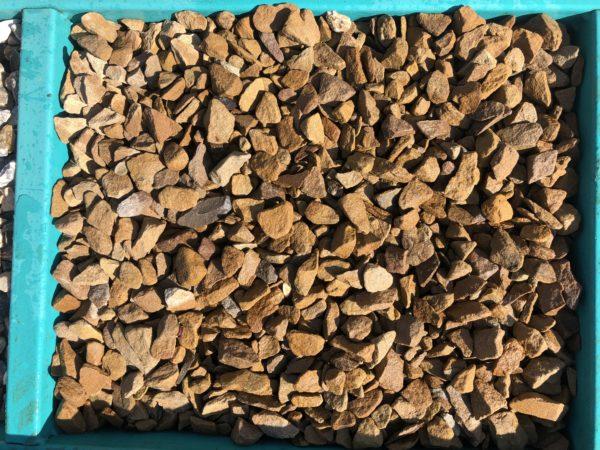 Крошка жёлтая песчаник 10-20 мм