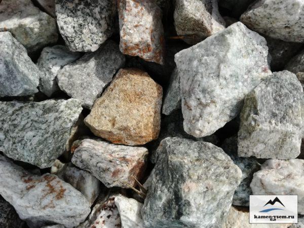 Крошка каменная серая гранит