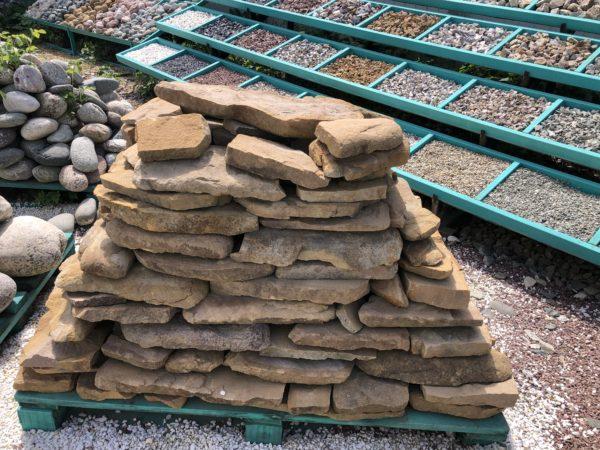 Песчаник колотый облицовочный