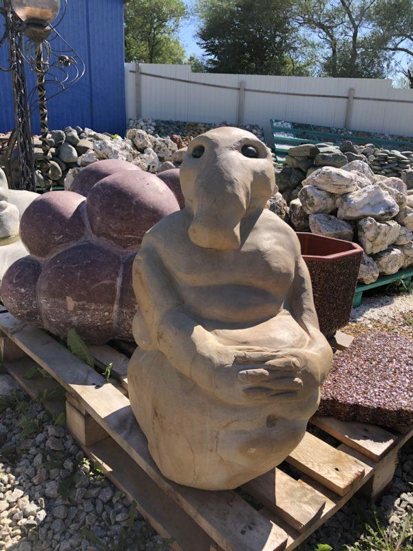 """Купить каменную статую """"Ждун"""""""