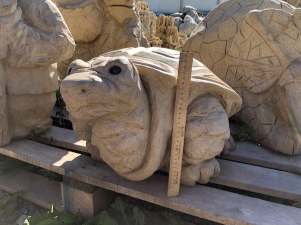 Каменная статуя Черепаха